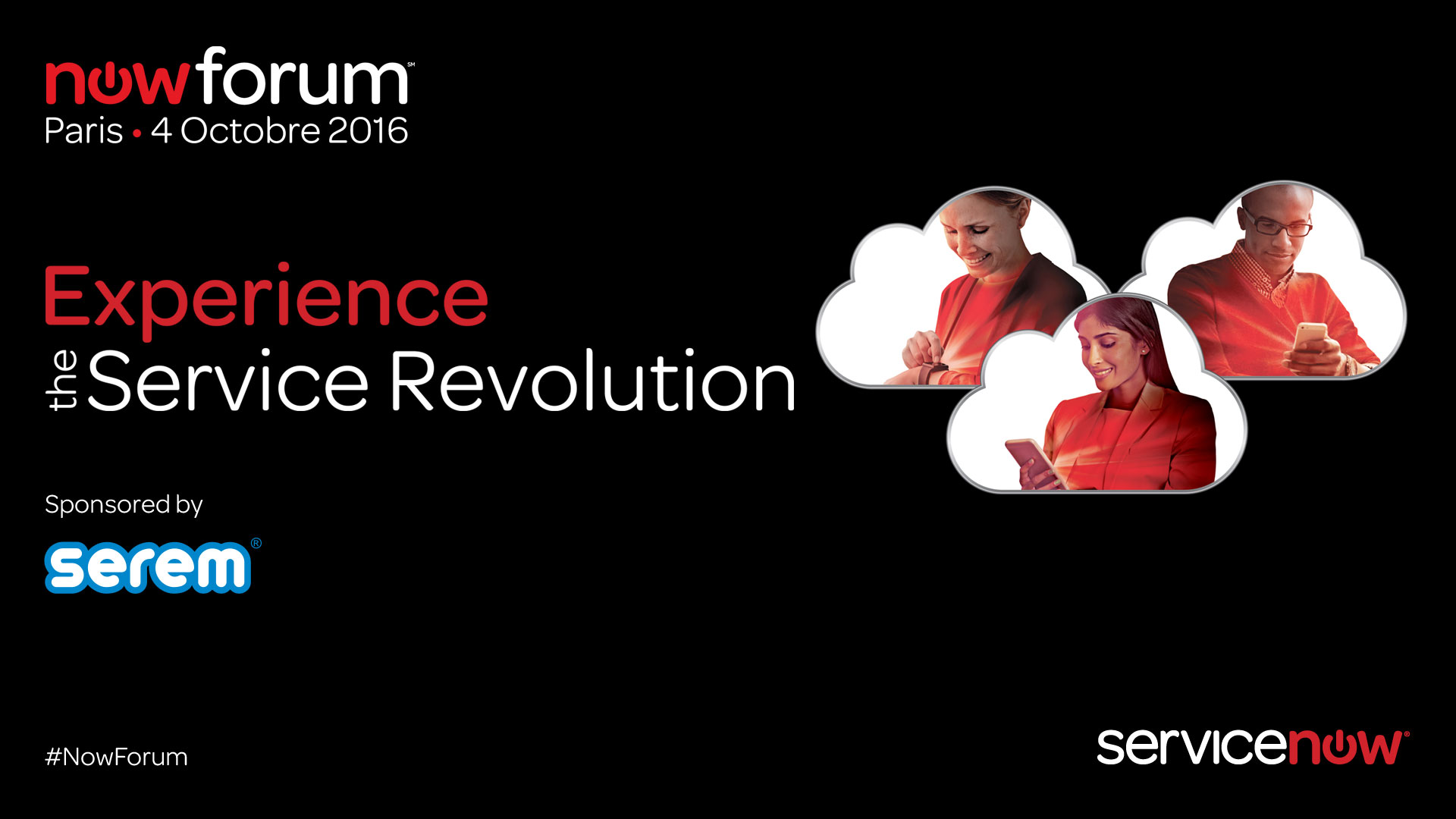 Un día de inspiración, SEREM Gold Sponsor en NowForum París 2016