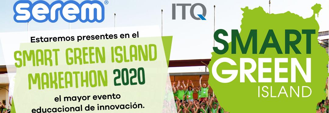 Serem patrocina el evento Makeathon 2020: 96 horas de innovación verde y talento joven en Las Palmas de Gran Canaria