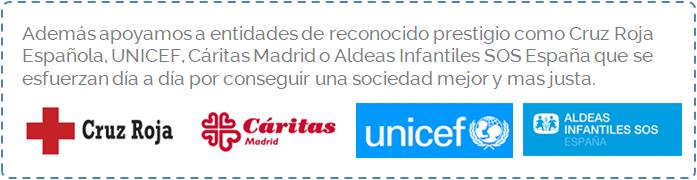 Cruz Roja - Cáritas - Unicef - Aldeas Infantiles SOS